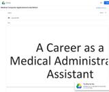 Medical Computer Applications