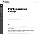 F-IF Temperature Change