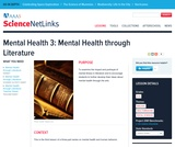 Mental Health 3: Mental Health Through Literature