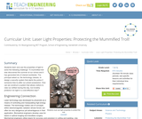 Laser Light Properties: Protecting the Mummified Troll!