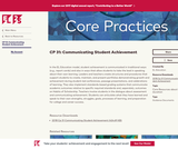 CP 31: Communicating Student Achievement