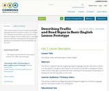 Describing Traffic and Road Signs in Basic English