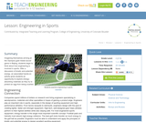 Engineering in Sports