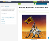 Mission to Mars: Blended Learning Design Quest