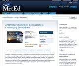 Antarctica: Challenging Forecasts for a Challenging Environment