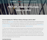 History of Europe, 1000 to 1800