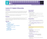 CS Fundamentals 4.17: Digital Citizenship