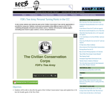 FDR's Tree Army: Personal Turning Points in the CCC