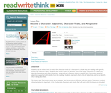 Become a Character: Adjectives, Character Traits, and Perspective