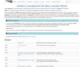 Análisis y visualización de datos usando Python