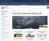 American Chemical Society - Chemistry Education Resources