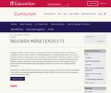Grade K: Reading Foundations Skills Block: Module 2