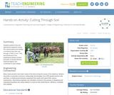 Cutting Through Soil