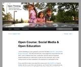 Open Course: Social Media & Open Education