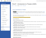 TA 147 -  Introduction to Theater