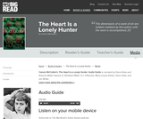 The Heart Is a Lonely Hunter by Carson McCullers - Audio Guide
