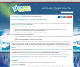 Science and Literacy Lessons About Mammals