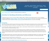Activities for Identifying Similarities and Differences