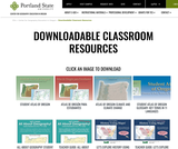 Center for Geography Education in Oregon - Downloadable Classroom Resources