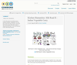 Kitchen Humanities: Silk Road II - Indian Vegetable Curry
