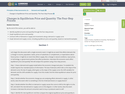 Changes in Equilibrium Price and Quantity: The Four-Step Process