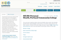HE 250: Personal Health, Portland Community College