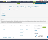Fast Food in German-Speaking Countries
