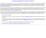 Astronomy Diagnostic Test (ADT) Version 2.0