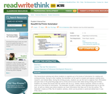 ReadWriteThink Notetaker
