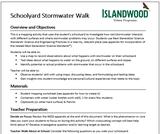 Schoolyard Stormwater Walk Activity