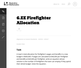 Firefighter Allocation