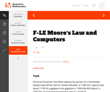 F-LE Moore's Law and Computers