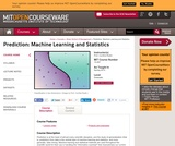 Prediction: Machine Learning and Statistics, Spring 2012