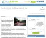 Soil Contamination in Rivers