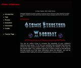Atomic Structure Webquest