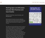 Marking Open and Affordable Courses: Best Practices and Case Studies