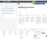 MS-ESS1-1 Proficiency Scale