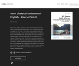Adult Literacy Fundamental English - Course Pack 3