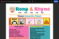 Romp & Rhyme Storytime Parent Activity Sheet: Excuse Me, Please