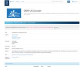 OER-UCLouvain: Complications en chirurgie du rachis