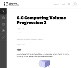 Computing Volume Progression 2