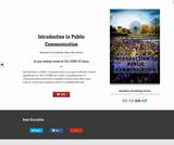 Introduction to Public Communication