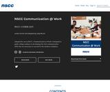 NSCC Communication at Work