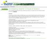 Investigating Weather: A House of Seasons