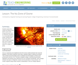 The No Zone of Ozone