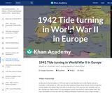 1942 Tide turning in World War II in Europe