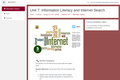 Kenya ICT CFT Course: Information Literacy and Internet Search
