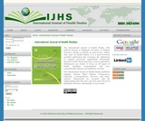 International Journal of Health Studies