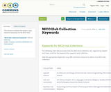 MCO Hub Collection Keywords