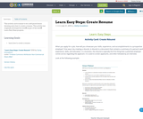 Learn Easy Steps: Create Resume